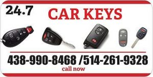 Lost car keys Local Locksmtih montreal